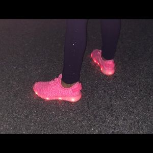 Other - Pink Rechargable girls Led shoes size